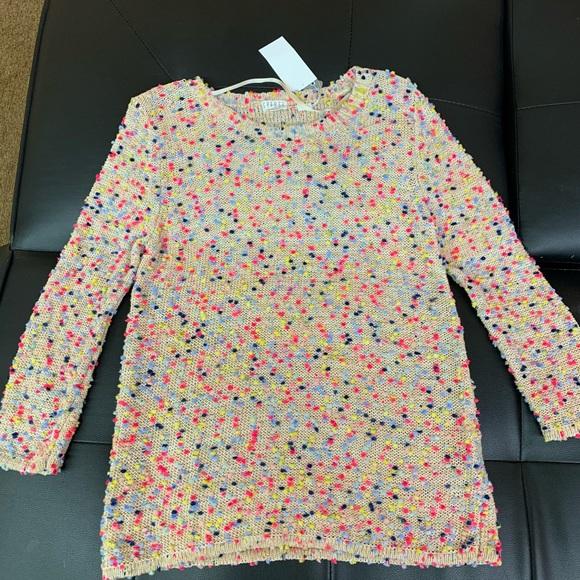 Super cute multi-colored sweater. Brand new!